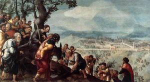 De intocht van Christus in Jeruzalem