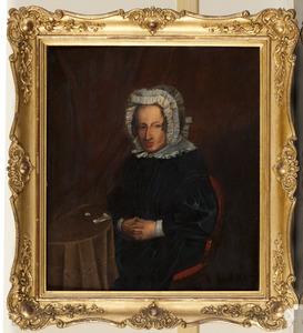 Portret van een vrouw, mogelijk Maria Catharina barones van Boetzelaer (1771-1836)