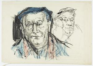 Twee zelfportretten Fiedler