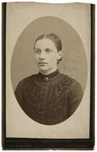 Portret van Aaltje Affolter (1865-)