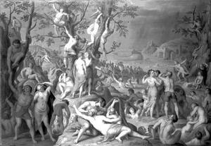 De zondige mensheid voor de zondvloed en de ark van Noach (Genesis 7)