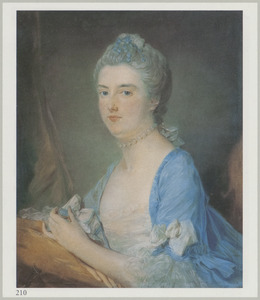 Portret van Lucy Young (1714-1773)