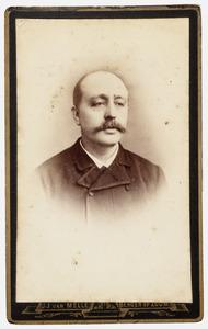 Portret van Edmond Johannes Baptist Nerincx (1848-1890)