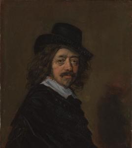 Portret van Frans Hals (1582-1666)
