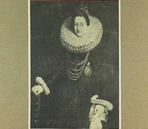 Portret van de Infanta van Spanje, Isabella (1566-1633)