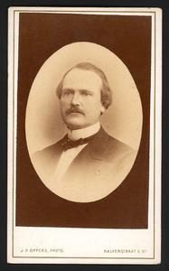 Portret van Thorvald Frederik Egidius (1822-1900)