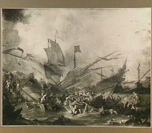 Zeeslag tussen Christenen en Turken