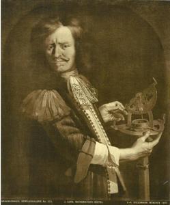 Portret van mathematicus Hans Georg Hertel (1620-1697/99)