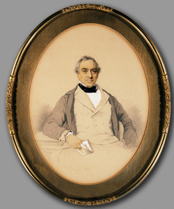 Portret van Abraham Salm (1801-1876)