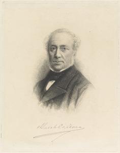 Portret van Aarnoud Jan van Beeck Calkoen (1805-1874)