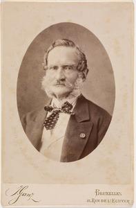 Portret van Charles Malcolm Ernest George graaf van Bylandt (1818-1893)