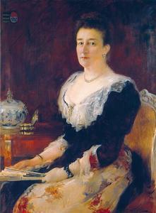 Portret van Ada Catharina barones Torck (1835-1902)