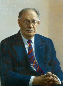 Portret van Pieter J. Zandbergen (1933-)