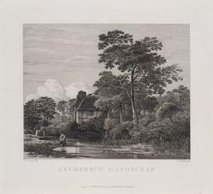 Gelders landschap met water en bomen