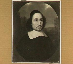 Portret van Matthias Nethanus (1618-1686), hoogleraar Godgeleerdheid te Utrecht (1654-1662); nadien te Herborn