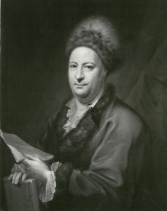 Portret van de dichter Friedrich von Hagedorn (1708-1754)
