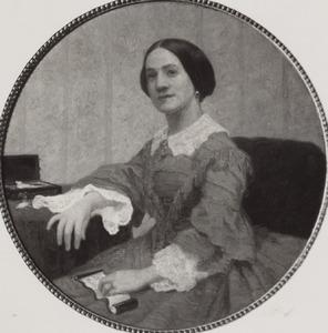 Portret van Catharina Elisabeth Teding van Berkhout (1837-1886)