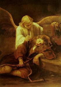 Jacobs droom (Genesis 28:10-15)