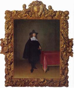 Portret van Willem Marienburg (1634-1711)