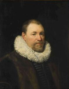 Portret van Nicolaas Cromhout (1561-1641)