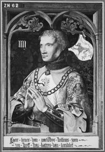 Portret van Hendrick III van Naaldwijk (ca. 1366-1427)