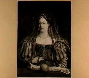 Portret van koningin Ester