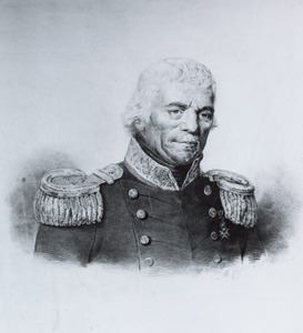 Portret van Abraham Kuvel (1757-1832)
