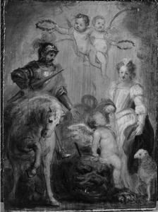 Heilige Joris en Heilige Agnes