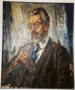 Portret van de ceramist Willem C. Brouwer (1877-1933)