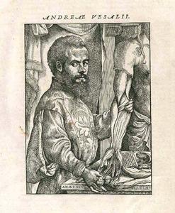 Portret van Andreas Vesalius (1514-1564)