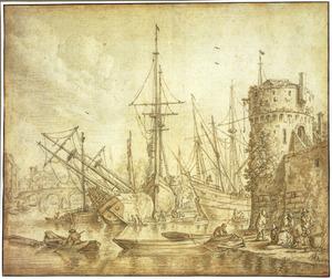 Haven met scheepswerf