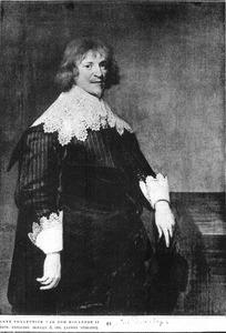 Portret van een man, waarschijnlijk Hendrik Thibaut (1604-1667)