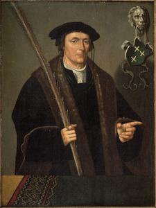 Portret van Pieter Claesz. Palinc (....-1546)