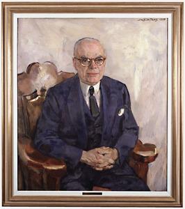 Portret van dr. Paul Rijkens (1888-1965)