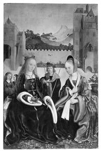 De HH. Ursula en Cunera