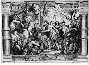 Abraham en Melchisedek (Genesis14:18-20)