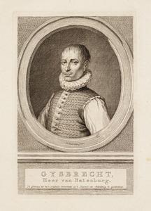 Portret van een man ten onrechte genaamd Gijsbert van Bronckhorst van Batenburg ( -1568)