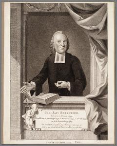 Portret van Johannes Jacobus Serrurier (1724-1804)