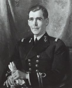 Portret van Alexander van Geen (1903-1942)