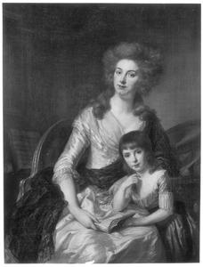 Dubbelportret van Cornelia van Brakel (1754-1823) en Anna Jacoba Wilhelmina van Aylva (1778-1814)