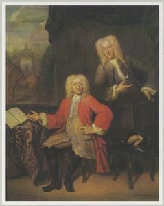 Dubbelportret van twee heren
