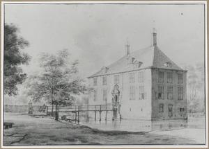 Kasteel Poelenburg bij Heemskerk