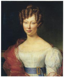 Portret van Caroline Marie Groeninx van Zoelen (1802-1860)