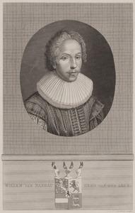 Portret van Willem van Nassau-La Lecq (1601-1627)