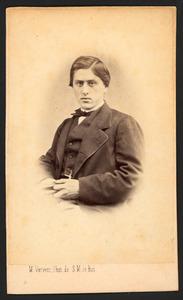 Portret van mogelijk Willem Philip van Wickevoort Crommelin (1836-1910)