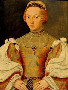 Portret van Isabella van Habsburg (1501-1526)