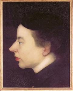 Portret van Annie Mankes-Zernike