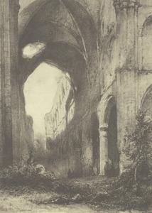 Ruïne van de abdij te Villers