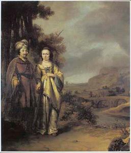 Portret van een echtpaar (fragment)