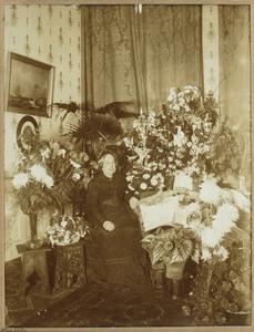 Portret van Christiana Philipina van Alphen (1828-1914)